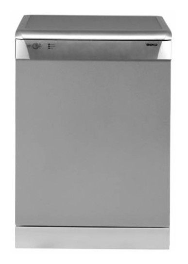 Посудомоечная машина BEKO DFDN1530X,  полноразмерная, серебристая