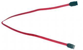 Кабель SATA GEMBIRD CC-SATA-DATA,  SATA (прямой) -  SATA (прямой),  плоский,  0.5м,  красный