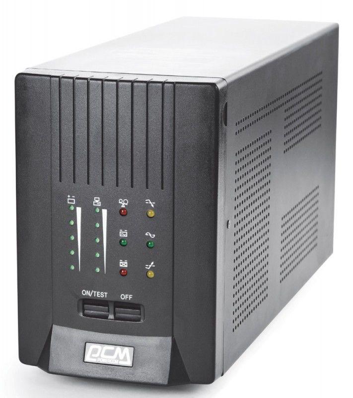 Источник бесперебойного питания POWERCOM Smart King Pro SKP-2000A,  2000ВA [skp-2k0a-6c0-244p]