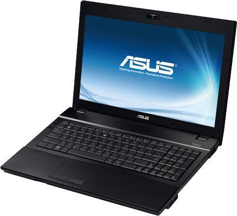 """Ноутбук ASUS B53F, 15.6"""",  Intel  Core i3  370M 2.4ГГц, 3Гб, 320Гб,  Intel HD Graphics , DVD-RW, Windows 7 Professional, 90N0LAB18W373CXD53AY"""
