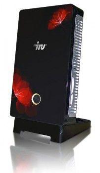 Неттоп  IRU Corp 110,  Intel  Atom  D410,  DDR2 1Гб, 160Гб,  Intel GMA 3150,  noOS,  черный