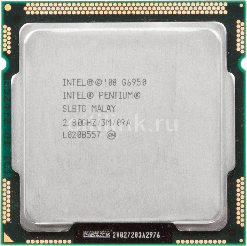 Процессор INTEL Pentium G6950, LGA 1156 OEM [cm80616004593aes lbtg]