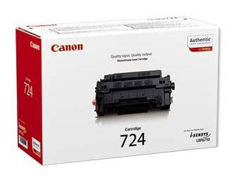 Картридж CANON 724 черный [3481b002]