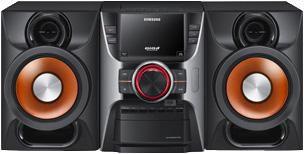Музыкальный центр SAMSUNG MX-C630D,  черный