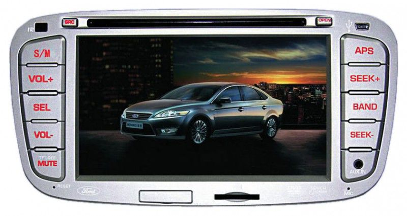 Автомагнитола VELAS V-FM,  Ford Mondeo, Focus II, S-Max, Galaxy,  USB,  SD
