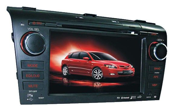 Автомагнитола VELAS V-M3,  Mazda 3,  USB,  SD