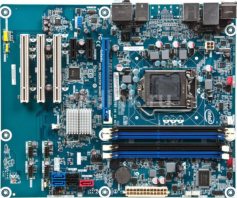 Материнская плата INTEL DP67BAB3 LGA 1155, ATX, bulk