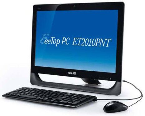 ASUS EeeTop PC ET2010PNT,  Intel  Atom  D510,  DDR2 2Гб, 320Гб,  nVIDIA GeForce GT218,  DVD-RW,  Windows 7 Home Premium,  черный [90pe3ga21118e6059c0c]