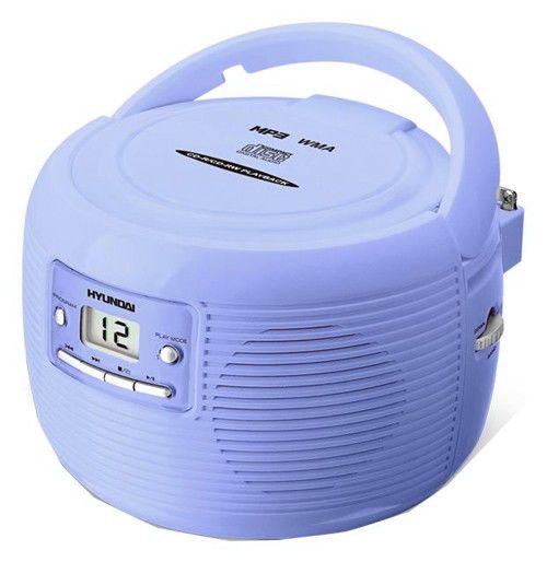 Аудиомагнитола HYUNDAI H-1401,  синий