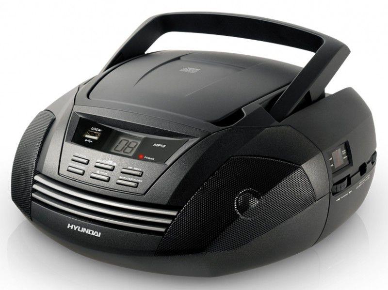 Аудиомагнитола HYUNDAI H-1404,  черный