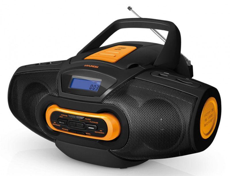 Аудиомагнитола HYUNDAI H-1430,  черный
