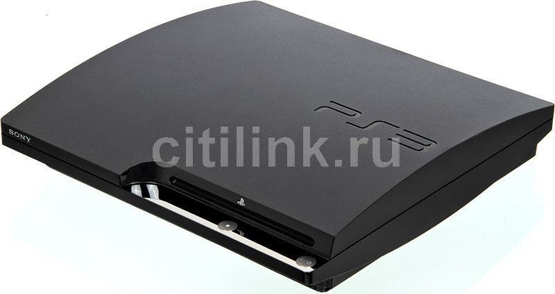 Игровая консоль SONY PlayStation 3 PS719102687, черный