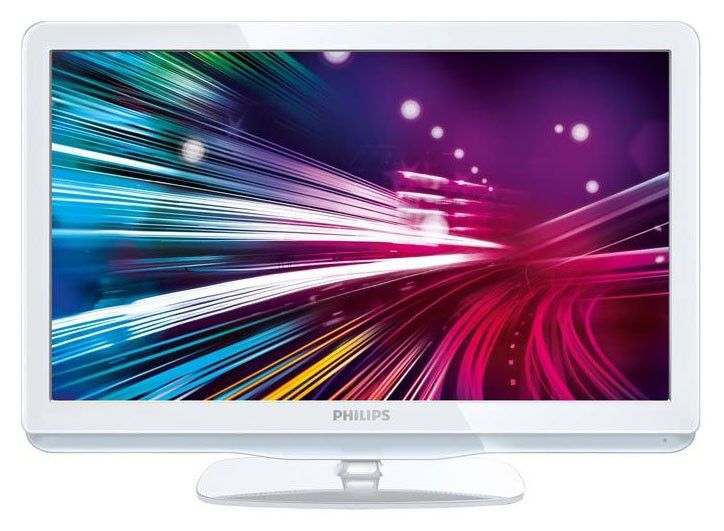 "LED телевизор PHILIPS 22PFL3415H/60  ""R"", 22"", HD READY (720p),  белый"
