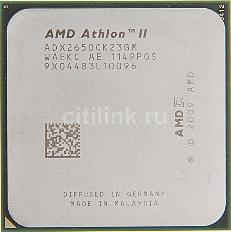 Процессор AMD Athlon II X2 265, SocketAM3 OEM [adx265ock23gm]