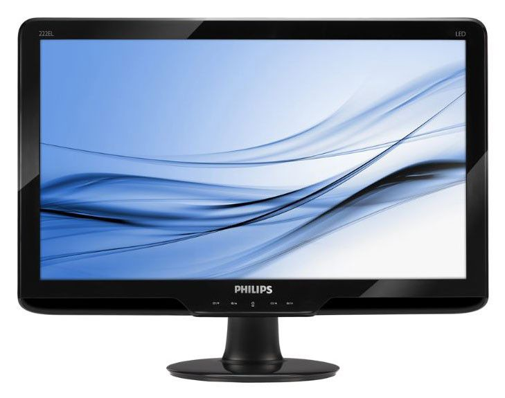 Монитор ЖК PHILIPS 222EL2SB/62 21.5
