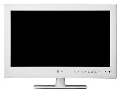 "LED телевизор LG 22LE3400  ""R"", 22"", HD READY (720p),  белый"