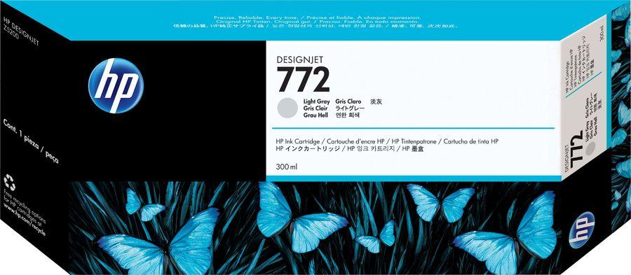 Картридж HP №772 CN634A,  светло-серый