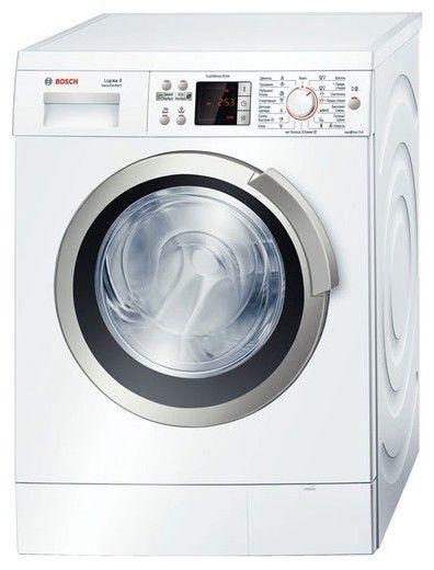 Стиральная машина BOSCH WAS 24443OE, фронтальная загрузка,  белый