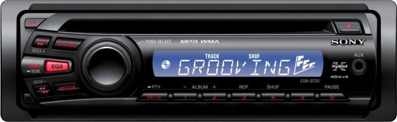 Автомагнитола SONY CDX-GT25