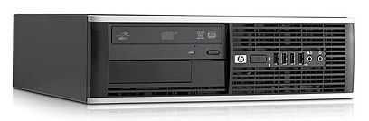 HP Pro 6000SFF,  Intel  Core2 Quad  Q8400,  DDR3 4Гб, 500Гб,  Intel GMA 4500,  DVD-RW,  Windows 7 Professional,  черный [xt447es]