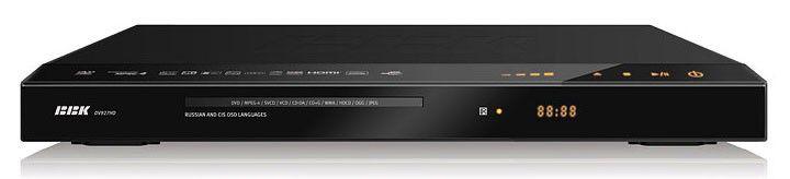 DVD-плеер BBK DV927HD,  черный,  диск 500 песен