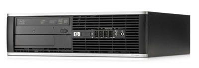 HP Elite 8000SFF,  Intel  Core2 Duo  E8400,  DDR3 2Гб, 320Гб,  Intel GMA 4500,  DVD-RW,  Windows 7 Professional,  черный