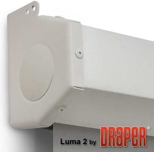 Экран DRAPER Luma 2 HDTV,  295х165 см, 16:9,  настенно-потолочный