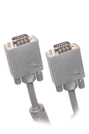 Кабель SVGA  VGA HD15 (m) -  VGA HD15 (m),  ферритовый фильтр ,  1.8м [bw1475]