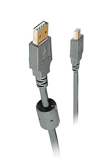 Кабель USB2.0  USB A (m) -  micro USB B (m),  ферритовый фильтр ,  1.8м [bw1558]