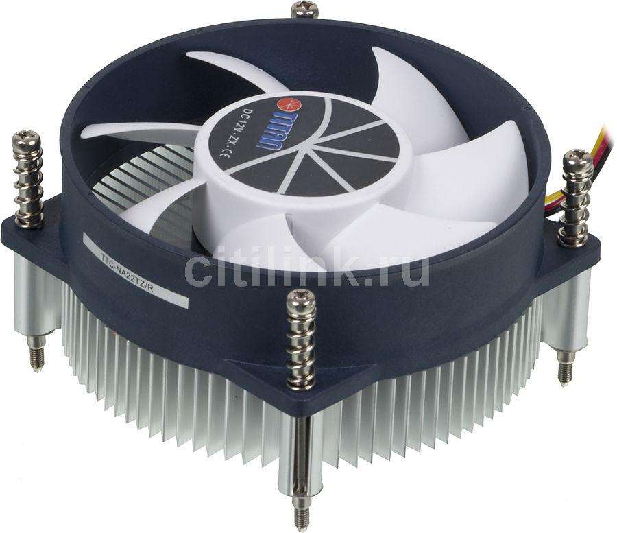 Устройство охлаждения(кулер) TITAN TTC-NA22TZ/R,  95мм, Ret