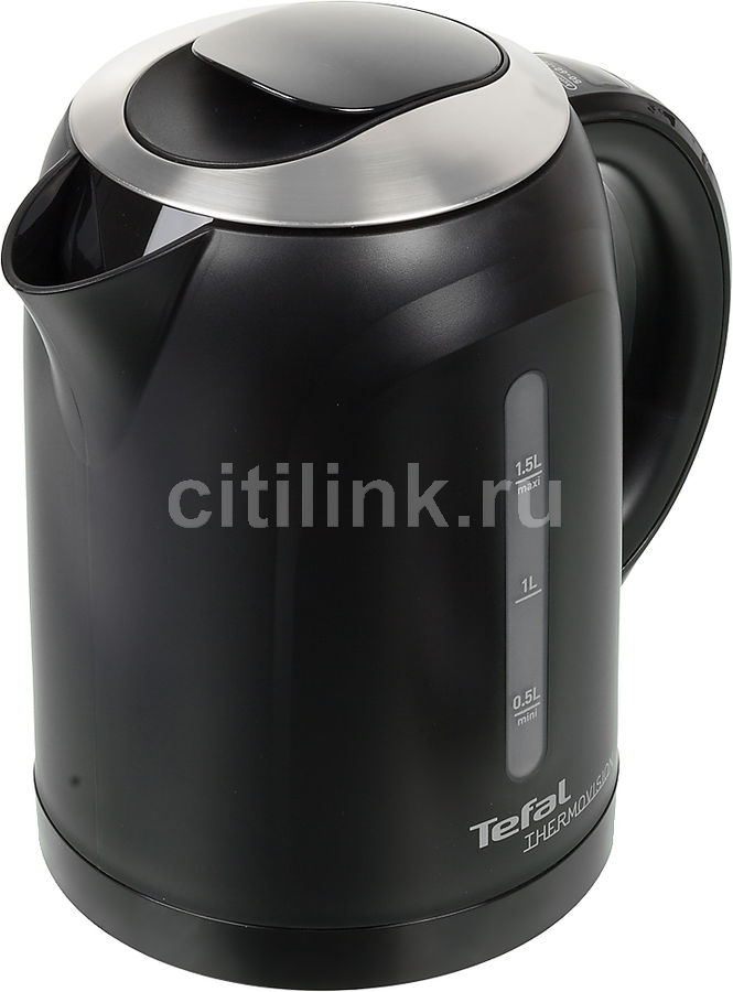 Чайник электрический TEFAL KO410830, 2400Вт, черный