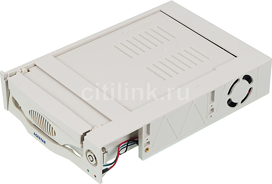 Mobile rack (салазки) для  HDD AGESTAR MR3-SATA (k)-3F, бежевый