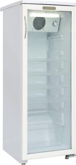 Холодильная витрина САРАТОВ 501 КШ-160,  однокамерный, белый [501 (кш160)]