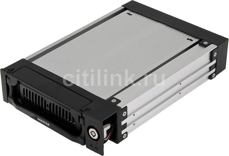 Mobile rack (салазки) для  HDD AGESTAR AMR1- SATA(K)-1F, черный