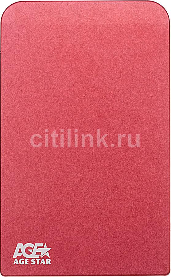 Внешний корпус для  HDD AGESTAR 3UB2O1, красный