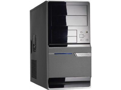 IRU Home 310,  Intel  Pentium Dual-Core  E5400,  DDR2 2Гб, 250Гб,  nVIDIA GeForce GT220 - 1024 Мб,  DVD-RW,  CR,  Windows 7 Home Basic,  черный