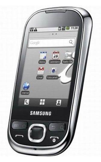 Смартфон SAMSUNG Galaxy 550 GT-I5500  черный