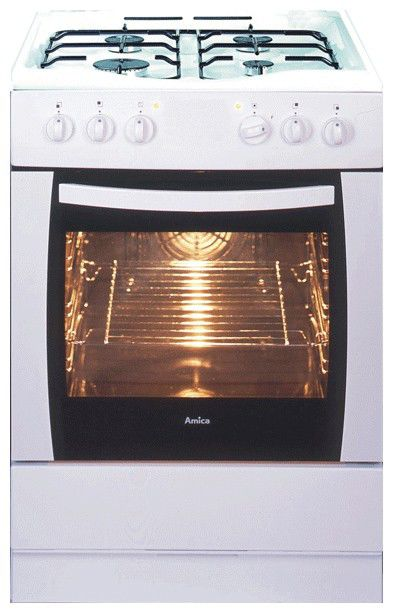 Газовая плита HANSA FCMW67002010,  электрическая духовка,  белый