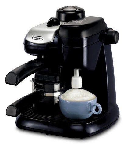 Кофеварка DELONGHI EC9,  эспрессо,  черный