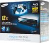Оптический привод Blu-Ray SAMSUNG SH-B123L/RSBP, внутренний, SATA, черный,  Ret вид 5