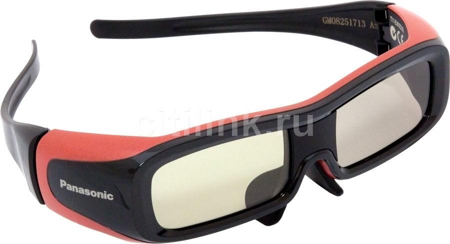 Очки 3D PANASONIC TY-EW3D2SE Small,  красный