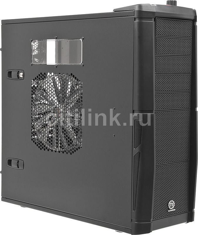 Корпус E-ATX THERMALTAKE Element V VL200K1W2Z, Full-Tower, без БП,  черный