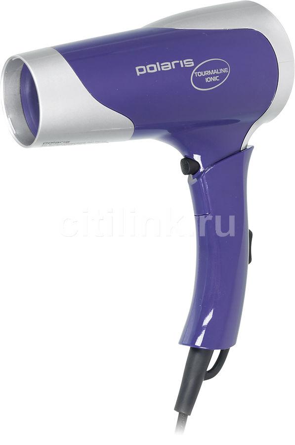 Фен POLARIS PHD1667TTi, 1600Вт, фиолетовый и серебристый