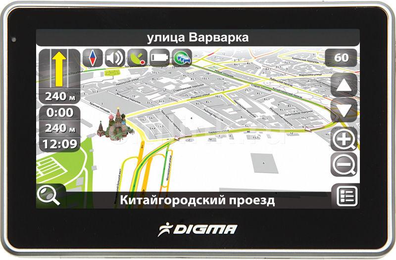 GPS навигатор DIGMA DS431BN,  4.3
