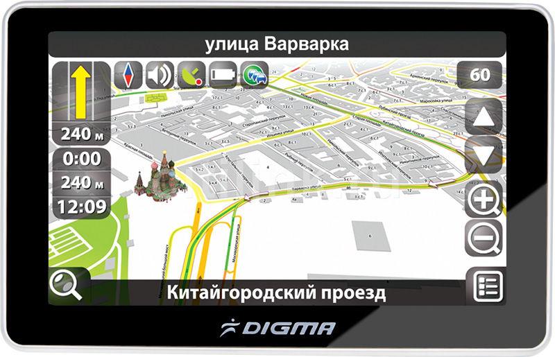 GPS навигатор DIGMA DS501BN,  5