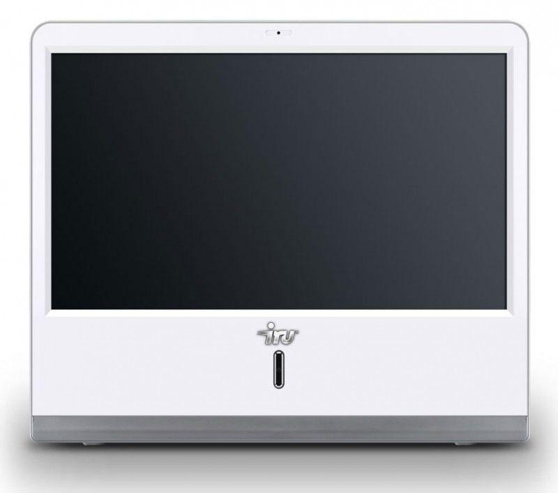 IRU AIO 105,  Intel  Atom  330,  DDR2 2Гб, 500Гб,  nVIDIA GeForce 9400,  DVD-RW,  CR,  Windows 7 Starter,  белый