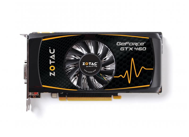 Видеокарта ZOTAC GeForce GTX 460SE,  1Гб, GDDR5, Ret [zt-40409-10p]