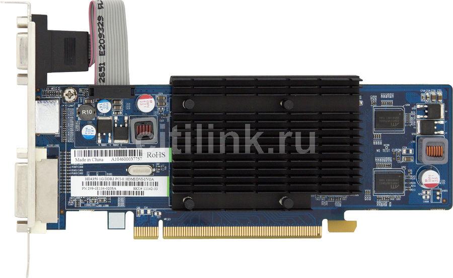 Видеокарта SAPPHIRE Radeon HD 4350,  1Гб, DDR2, oem [11142-xx-10r]