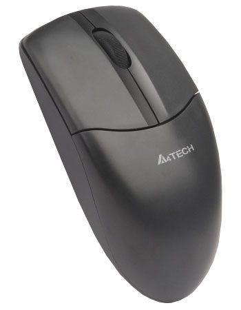 Мышь A4 G3-220 оптическая беспроводная USB, черный [g3-220 bl]