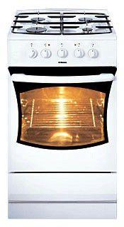 Газовая плита HANSA FCMW51001010,  электрическая духовка,  белый